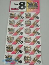 OS O.S engine NO.8 Medium Hot Glow Plug ( MP7.5 MP777 INFERNO GT) FreeShip 10pcs