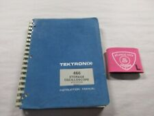 TEKTRONIX 466 STORAGE OSCILLOSCOPE W/ OPTIONS SERVICE INSTRUCTION MANUAL