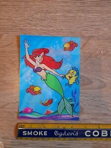 Vintage German Disney Lenticular Cards Postcard Size Little Mermaid