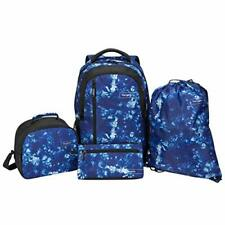 TARGUS 4 PIECE LAPTOP BACKPACK LUNCH/GYM/ACCESSORIES BAG WORK SCHOOL 15.6 GALAXY