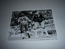 SKIP THOMAS OAKLAND RAIDERS DR DEATH LAST ONE! JSA/STAMP SIGNED 8X10  PHOTO