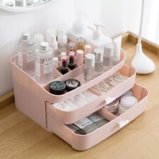 Makeup Organizer Cosmetic Jewelry Box Large Plastic Desktop Bathroom Case Drawer