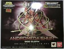 Saint Seiya Saint Cloth Myth Andromeda Shun God Cloth-10th Anniversary Edition-