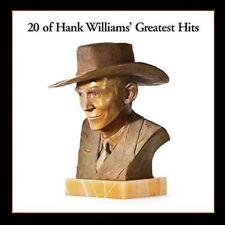 20 of Hank Williams' Greatest Hits by Hank Williams (Vinyl, Oct-2016, Mercury)
