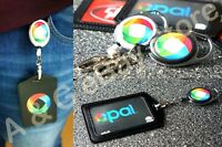 1 Retractable Lanyard ID Badge Opal Card Holder Business Pass Security Card Tag