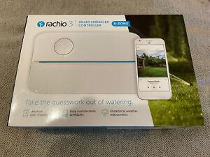 Rachio 3 8ZULW-C 3rd Generation 8-Zone Smart Water Sprinkler Controller