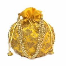 Women Handbag Ethnic Potli Purse Indian Handmade Bag Party Wedding Clutch Pouch