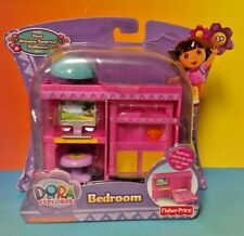 Fisher-Price Dora the Explorer Dollhouse Bedroom - NICKELODEON New Sealed Rare