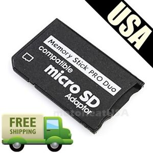 PSP Adapter TF To MS Reader Micro SD Adapter Memory Stick MS Pro Duo Converter