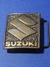 Suzuki Belt Buckle Vintage 1975 #622