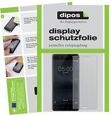 2x Nokia 5 Schutzfolie matt Displayschutzfolie Folie dipos Displayfolie
