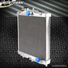 3 Row 52mm Aluminum Radiator For HONDA CIVIC 92 - 00 EK EG D15 D16