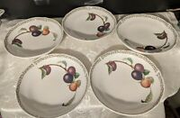 "5 - Noritake Royal Orchard Coupe Soup Bowls - 7 5/8"" - Dinnerware Dishes China"
