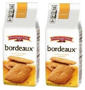 Pepperidge Farm Bordeaux Sweet & Simple Cookies 2 Bag Pack