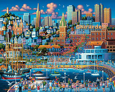 Jigsaw Puzzle Explore America Ghirardelli Square 500 pieces NEW Made in USA