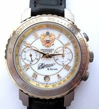 Russian WATCH Chronograph PRESIDENT PUTIN ! case from the titan