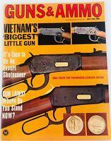 Vintage GUNS & AMMO Magazine July 1967 Vietnam's Biggest Little Gun