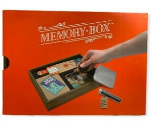 $  Wooden Memory Box Storage Container Organizer Photos Momentos By Luckies