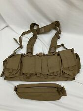Velocity Systems Mayflower UW Gen IV Chest Rig Coyote Brown w/Dangler IFAK