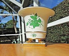 Vintage Herend Chinese Bouquet Hungary claw footed vase urn # 6402 AV