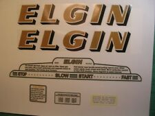 for all water cooled models 1948-1956 Elgin outboard decal set