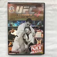 Ultimate Fighting Championship Classics, Vol. 4, ~ DVD, Royce Gracie