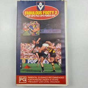 Fabulous Footy 2 Slip-Ups Pile-Ups Punch-Ups Football 1989