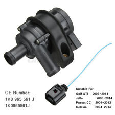 Engine Cooling Water Pump Auxiliary 1K0965561J For VW Jetta Golf GTI Passat