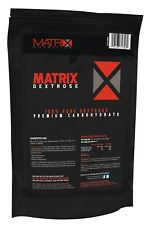 WEIGHT MUSCLE MASS GAIN WITH HIGH GI DEXTROSE POWDER FROM MATRIX NUTRITION 1kg