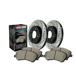 StopTech For Volvo S40 V50 C70 Disc Brake Pad and Rotor Front Kit - 939.39007