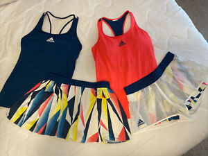 Adidas Women's climalite/climacool tennis outfits size Small (2 outfits) EUC!