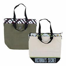Victoria's Secret Insulated Cooler Bag Travel Tote Zip Closure Beach Victoria Vs