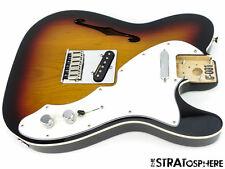 2017 Fender Deluxe Thinline Telecaster Tele LOADED BODY Guitar 3 Color Sunburst