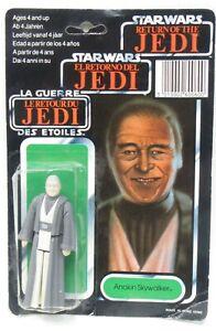 rare 1983 Star Wars ROTJ ANAKIN SKYWALKER Tri-Logo Card