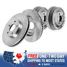 Front Brake Rotors Rear Brake Drums For 99-01 Escalade 95-00 Tahoe Yukon Denali