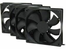 Rosewill ROCF-13001 120mm Case Fan, Black - 4 Pack