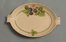 HEREND China BACCI FERE GARDEN BLACKBERRY BILBERRY Porcelain Table ASHTRAY Box