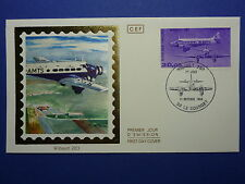 LOT 12107D TIMBRES STAMP ENVELOPPE AVIATION ET ESPACE FRANCE ANNEE 1986