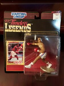 1997 Starting Lineup Timeless Legends Sugar Ray Leonard w/ Card  New In Package