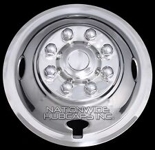 "1 FRONT Truck Van RV Trailer 16"" Dual Wheel Simulators Rim Liner Covers Hub Caps"