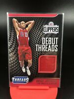 2016-17 Panini Threads Brice Johnson Debut Threads Patch Clippers