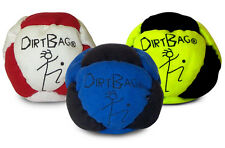 Dirtbag footbag hacky sack sand filled - Pack of THREE