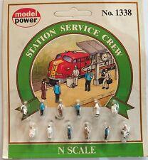 N Scale Model Railway Painted Figures, Boats & Loads - Multi Listing
