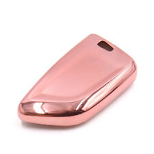 Pink Plastic Remote Key Case Holder Shell Cover For 2017 BMW X5 X1 X6
