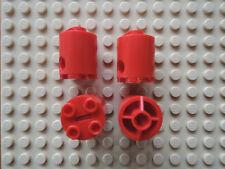 Lego 4 x Droid Body Zylinder 30361 rot 2x2x2  7238 7242 9448