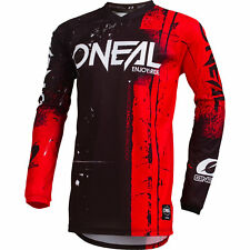 O'Neal Element Shred Youth MX Offroad Jersey Red LG