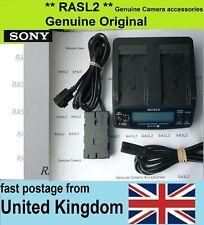 Original SONY AC-VQ1051d AC Adaptor Charger + DK-415 L series NP- F970 F960 F950