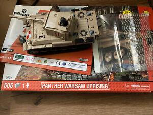 COBI 3035 Panther Warsaw Uprising World Of Tanks Panzer