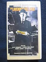 The Lavender Hill Mob [VHS Tape] Alec Guiness