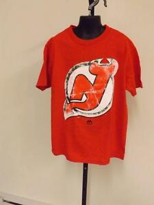 New Jersey Devils Youth size S Small Majestic  Shirt 82Ti
